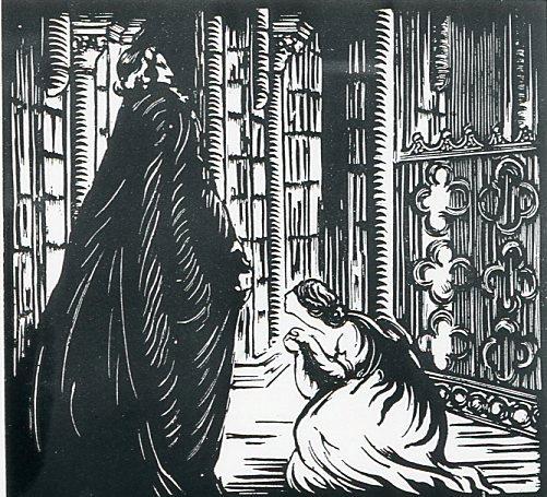 Image - Angélique aux pieds de Monseigneur d'Hautecoeur