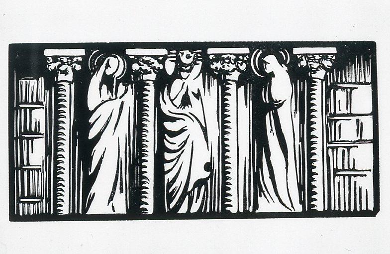 Image - Sculptures de la porte Sainte-Agnès