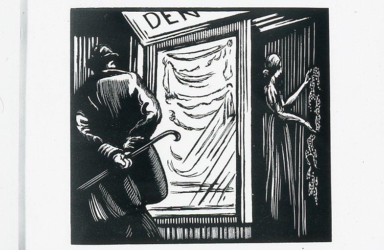 Image - Hubert et Hubertine devant la porte de la chambre d'Angélique
