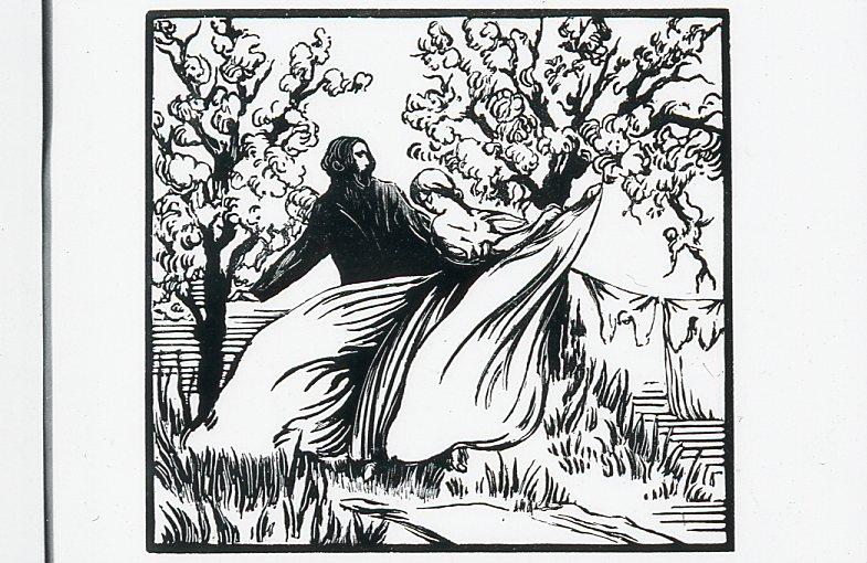 Image - Rencontre de Félicien et Angélique dans le Clos-Marie