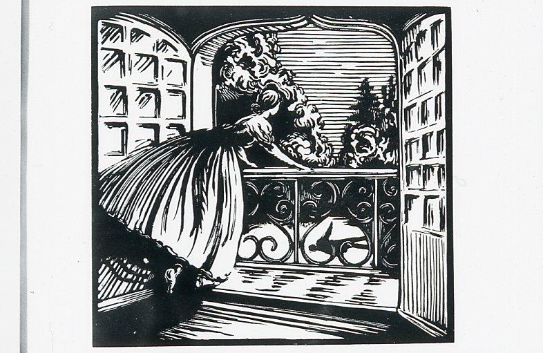 Image - Angélique à son balcon