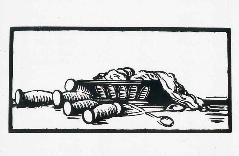 Image - Un panier à broderie