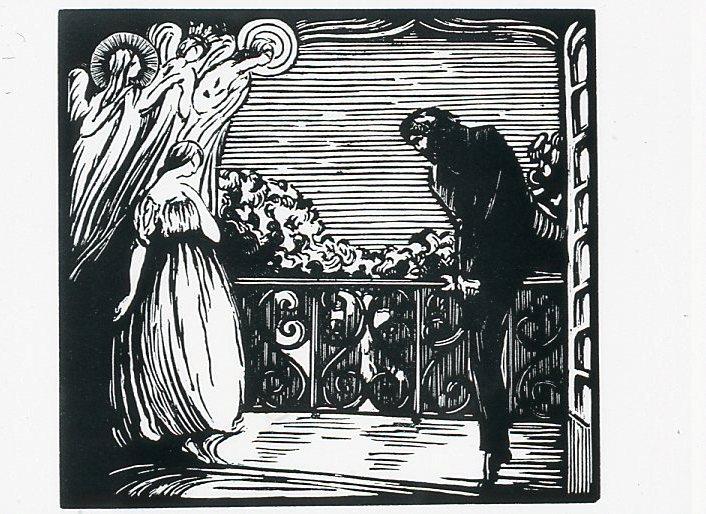 Image - Félicien retrouve Angélique sur le balcon