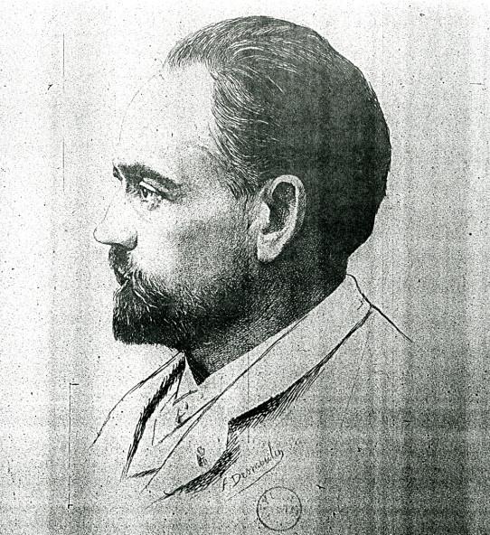 Image - Emile Zola de profil gauche