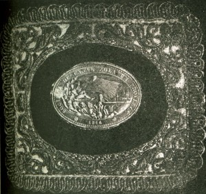 médaille 914 Canal Zola