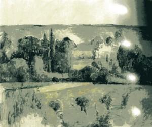 peinture 198 campagne de Médan par Cézanne