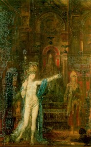 peinture 248 Salomé par Moreau