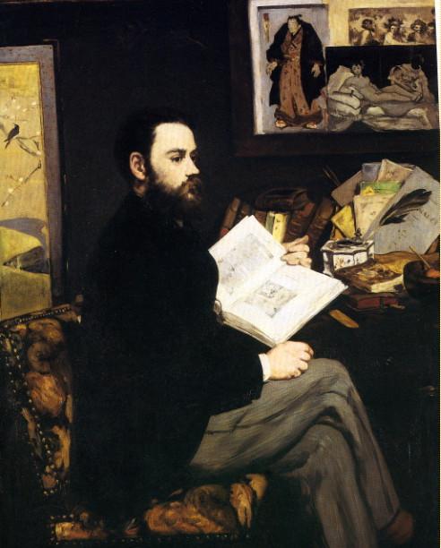 Image - Portrait d'Emile Zola