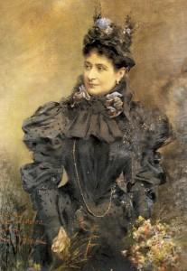 peinture 526 Madame Zola par Le Lièvre