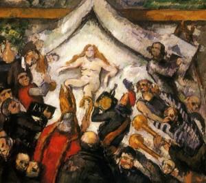 peinture 530 L'éternel féminin par Cézanne