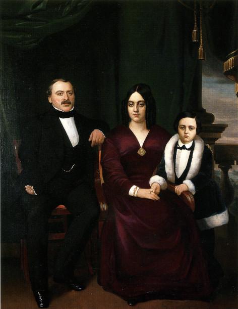 Image - Emile Zola et ses parents