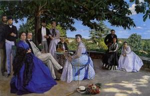 peinture 553 Réunion de famille Bazille