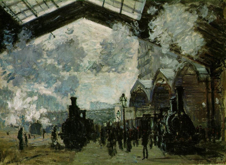 Image - La gare Saint-Lazare