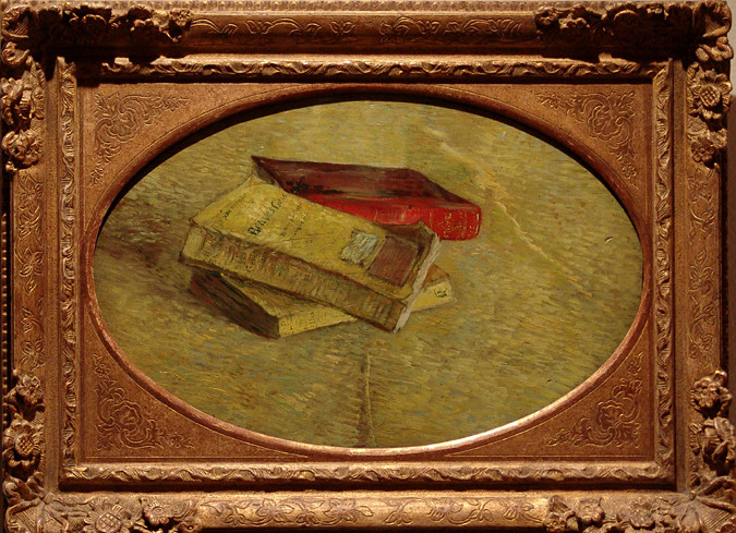 Image - Nature morte avec trois livres