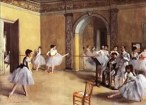 Image - Le Foyer de la danse à l'Opéra de la rue Le Peletier