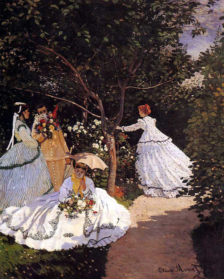 Image - Femmes au jardin