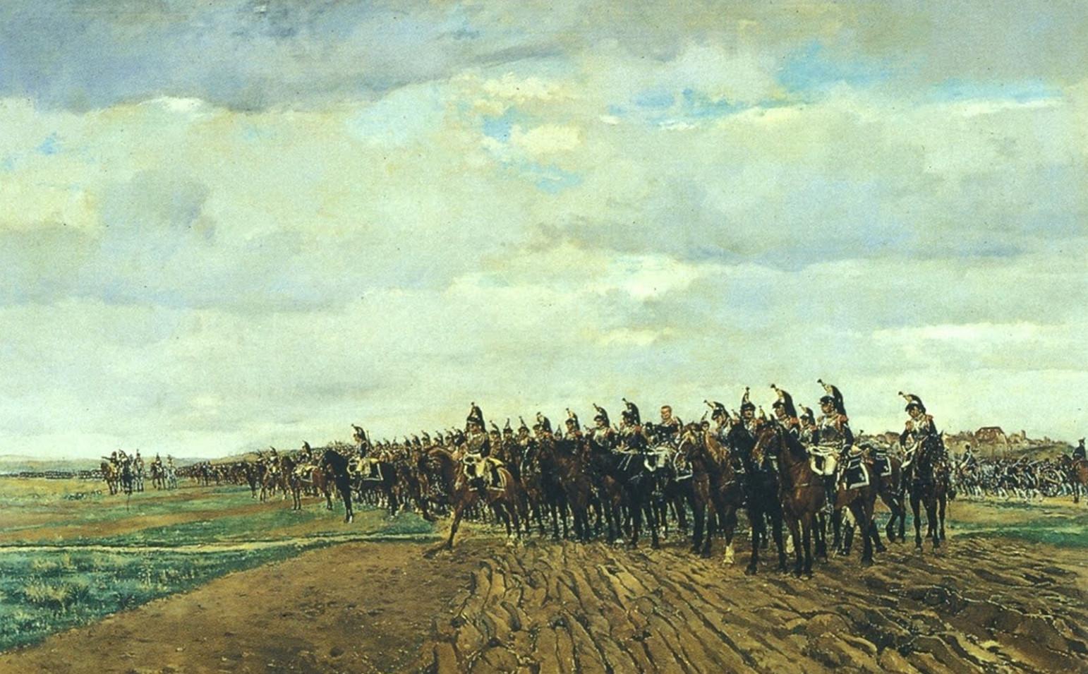 Image - Les Cuirassiers, 1805