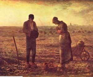peinture 632 Angélus Millet