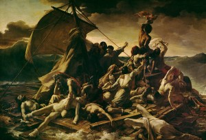 peinture 668 Le Radeau de la Méduse Géricault
