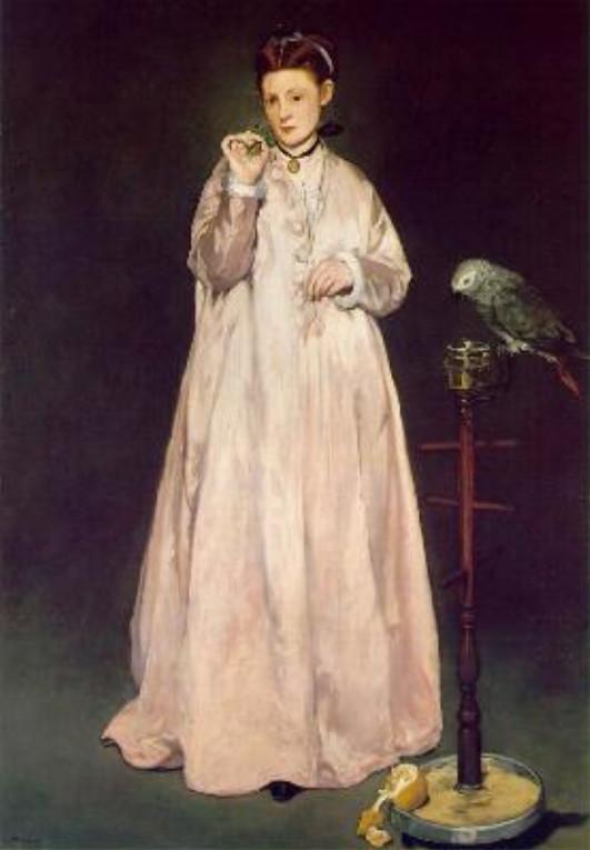 Image - Une jeune dame en 1866