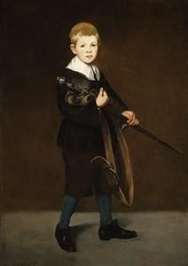 peinture 673 L'enfant à l'épée Manet