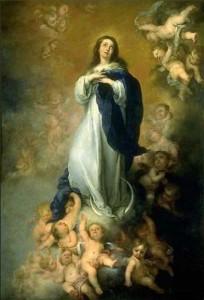 peinture 678 Vierge de l'Immaculée Conception Murillo