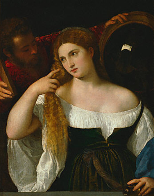 Image - La femme à sa toilette, dit aussi La Maîtresse