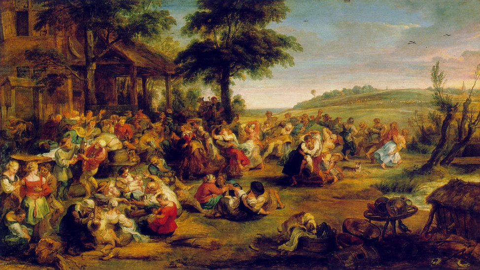 Image - La Kermesse ou Noce de village