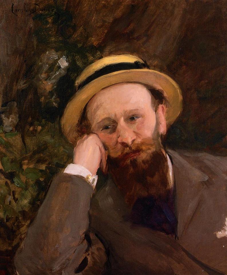Image - Portrait d'Edouard Manet