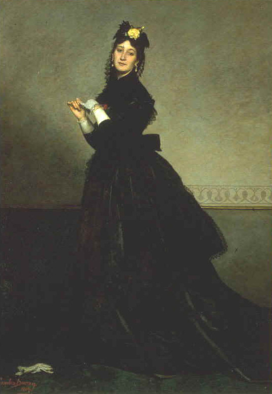 Image - La dame au gant