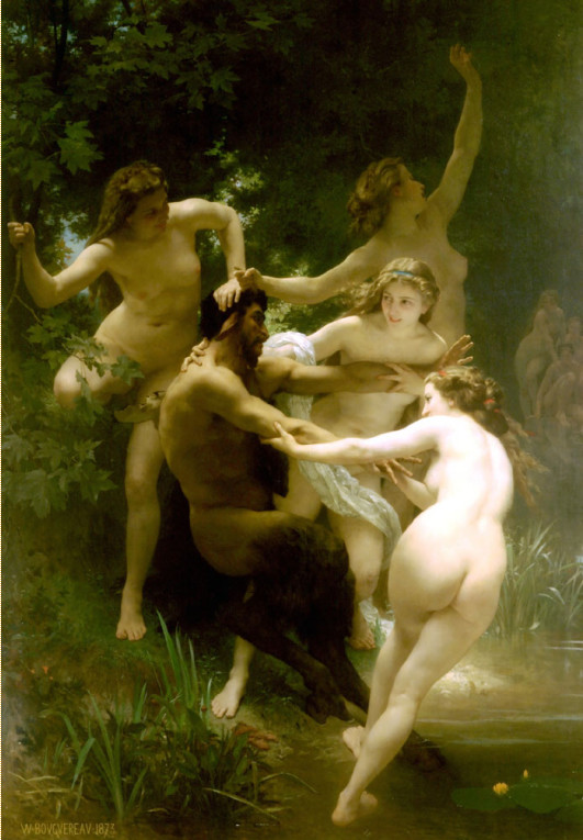 Image - Nymphes et Satyre