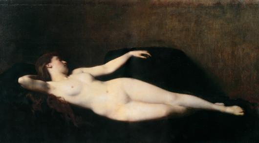 Image - Femme au divan noir