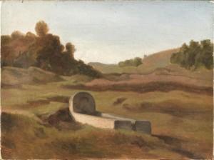 peinture 706 Pénitents Flandrin