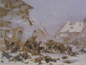 peinture 708 Attaque par feu Neuville