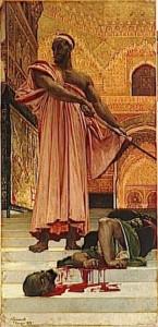 peinture 709 Exécution Regnault