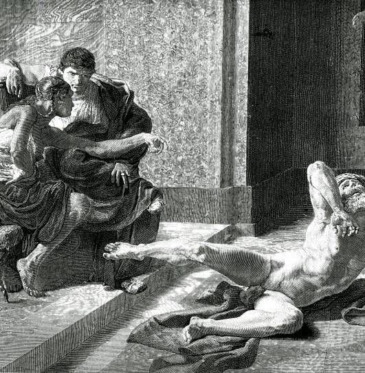 Image - Locuste essayant en présence de Néron le poison préparé pour Britannicus