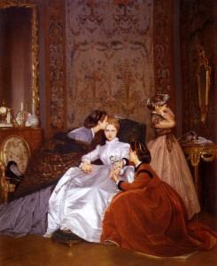 peinture 714 La fiancée hésitante Toulmouche