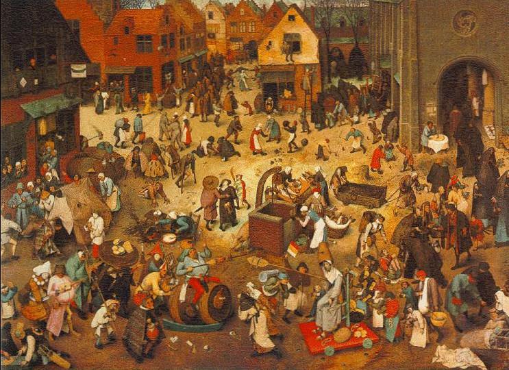 Image - Le Combat de carnaval et de carême