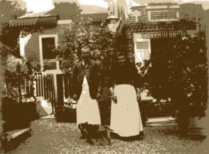 photographie 1013 Les domestiques à Médan
