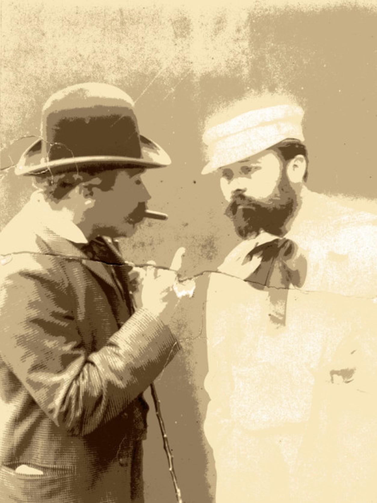 Image - Georges Charpentier et Fernand Desmoulin