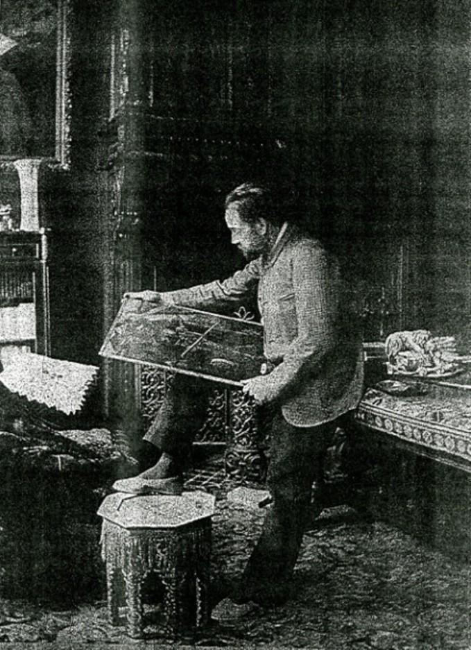 Image - Nos contemporains chez eux - Emile Zola
