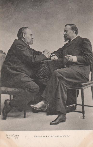 Image - Emile Zola et Fernand Desmoulin par Gerchel, n°4