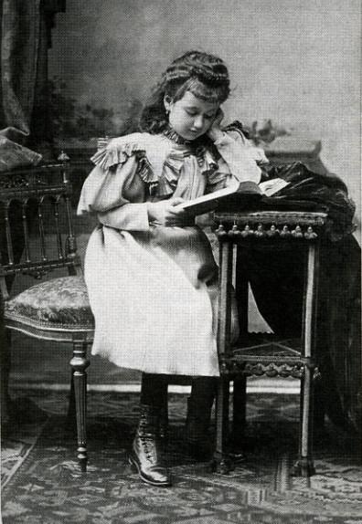 Image - Denise à l'âge de sept ans