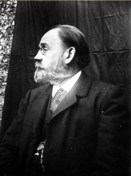 Image - Emile Zola, portrait d'Italie