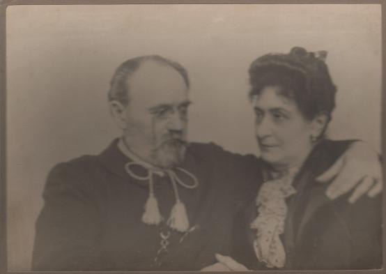 Image - Emile et Alexandrine Zola