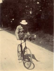 photographie 364 Laborde à bicyclette par Zola