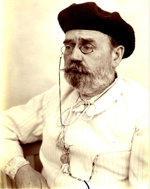 Image - Autoportrait d'Emile Zola