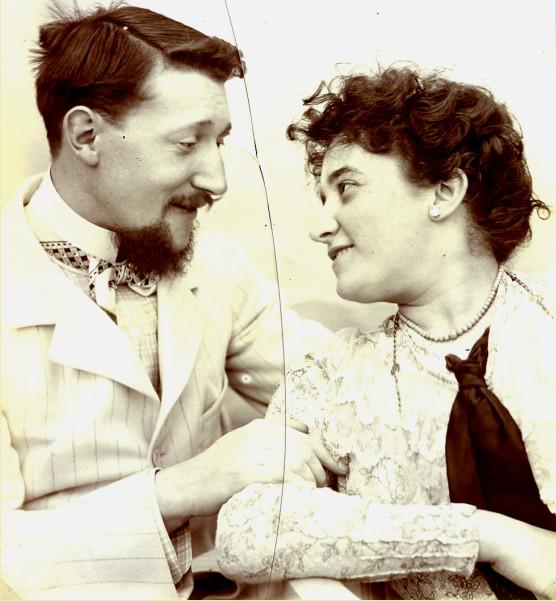 Image - Henri Dutar et sa femme, Jane Charpentier