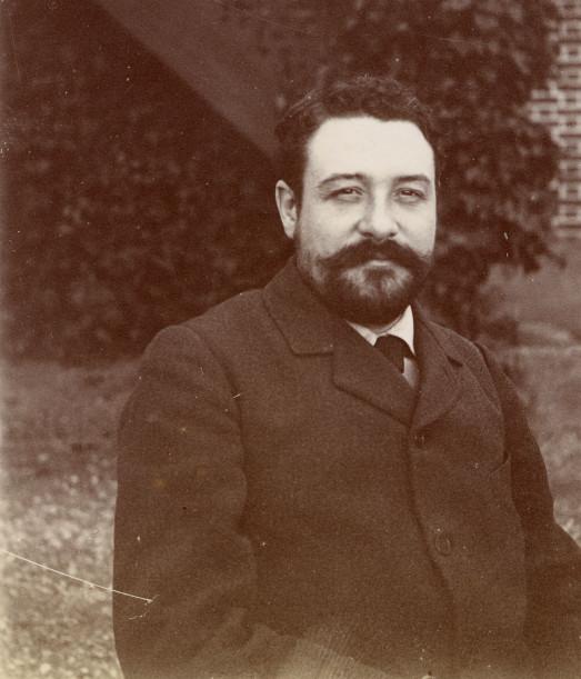 Image - Georges Loiseau à Médan