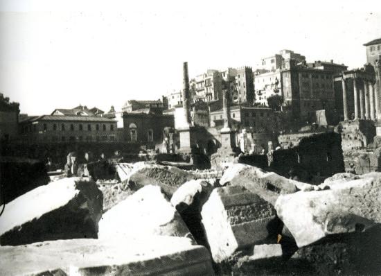 Image - Les fouilles dans le Forum, à Rome